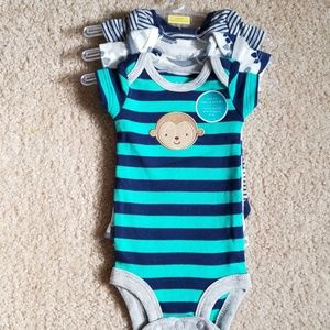 3 pack Child of Mine by Carter's Preemie Onesies